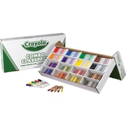 Crayola® 52-3348 Large Size Crayons and Washable Marker Classpack, Assorted