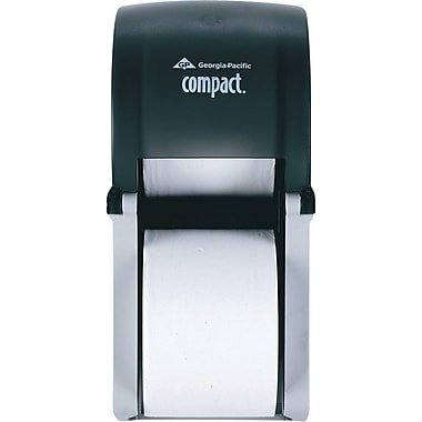 Georgia-Pacific® Coreless Vertical 2-Roll Bathroom Tissue Dispenser