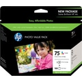 HP 75 Tricolor Photo Value Pack (CG501AN)