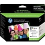 Hp 57 Tri-Color Ink Cartridge Photo Value Pack