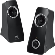Logitech Z320 10W Multimedia Speakers with Stereo Sound for Multiple Devices, Black (980-000329)