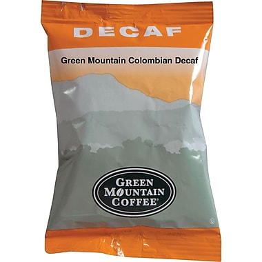 Green Mountain® Columbian Ground Coffee, Decaffeinated, 2.2 oz., 50 Packets
