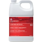 Sustainable Earth® by Staples® 80 Floor Care Floor Finish, 1 Gallon, 4/CT