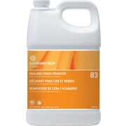 Sustainable Earth® by Staples® #83 Floor Care Concentrated Floor Stripper, 1 Gallon, 4/Ct
