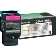 Lexmark™ – Cartouche de toner laser haut rendement C544X1MG, magenta