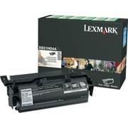 Lexmark™ X651H04A Black Return Program Toner Cartridge for Label Applications, High Yield