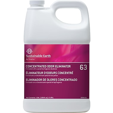 Sustainable Earth by Staples® Odor Eliminator #63, 1 gal.