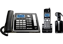RCA 25270RE3 DECT 6.0 2-Line Corded/Cordless Telephone with Cordless Headset