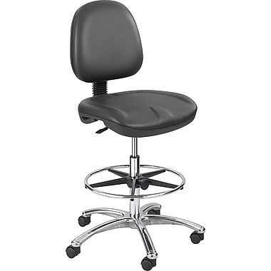 Safco® True Comfort™ 6748 Polyurethane Economy Workbench Chair, Black
