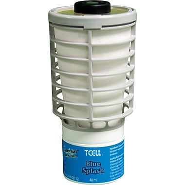 Technical Concepts TCELL™ Odor Control Refill, Blue Splash, 6/Case