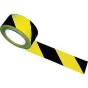 "Tatco Hazard Marking Aisle Tape, 2"" x 108 ft. Roll"