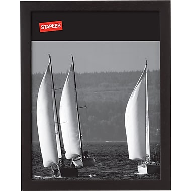 Staples® Wood Frame, 8-1/2in. X 11in., Black