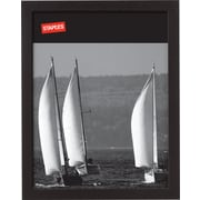 "Staples® Wood Frame, 8-1/2"" X 11"", Black"