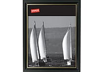 Staples 20196-CC 8 1/2' x 11' Black Wood Frame