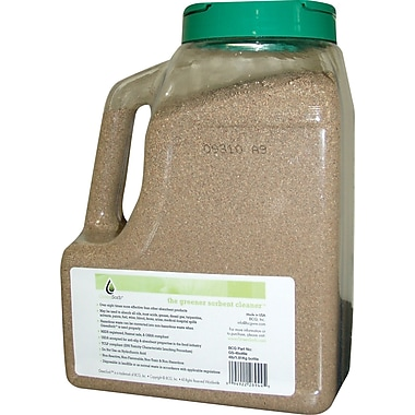GreenSorb™ Eco-Friendly Sorbent, Clay, 4 lb. Shaker Bottle