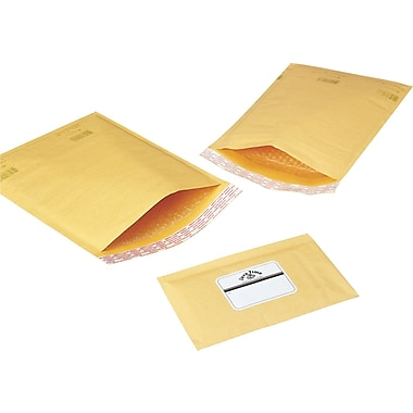 Self-Seal Bubble Mailers, 4in. x 8in.