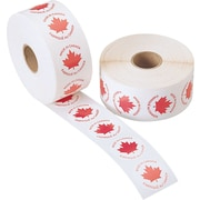 Made in Canada Labels, 1,000/Roll