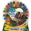 Crayola® 58-8750 PipSqueaks Telescoping Marker Tower, Conical Tip, Assorted