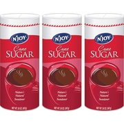 'N Joy Pure Cane Sugar Value Pack, 20 oz. Canister, 3/Pack