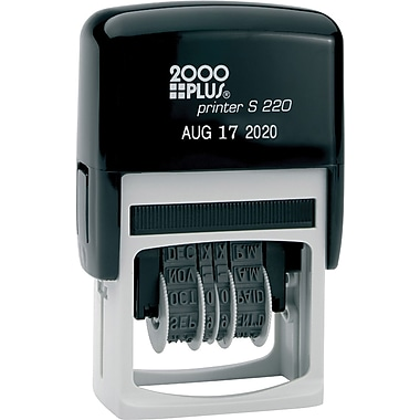 2000 PLUS Self-Inking Date Stamp