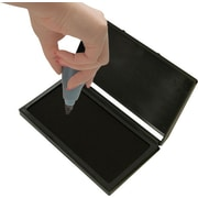 "2000PLUS®  Gel-Based Stamp Pad, Black, #1- 2 3/4"" x 4 1/4"""