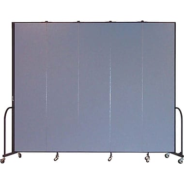 Screenflex Portable Furniture 96''Hx113''W Privacy Panel, Gray (CFSL805)