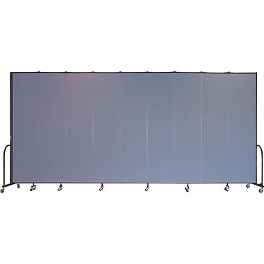 Screenflex Portable Furniture 96''Hx201''W Privacy Panel, Gray (CFSL809)