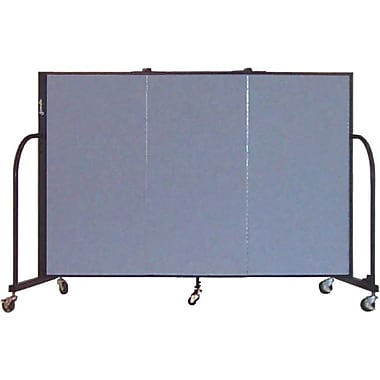 Screenflex 4'H x 5'9in.L Portable Furniture Partition