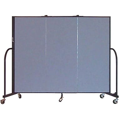 Screenflex 5'H x 5'9in.L Portable Furniture Partition