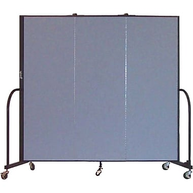 Screenflex 6'H x 5'9in.L Portable Furniture Partition