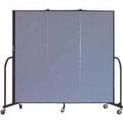 Screenflex Portable Furniture 72''Hx69''W Privacy Panel, Gray (CFSL603)