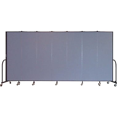 Screenflex Portable Furniture 80''Hx157''W Privacy Panel, Gray (CFSL687)