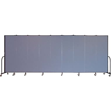 Screenflex Portable Furniture 80''Hx201''W Privacy Panel, Gray (CFSL689)