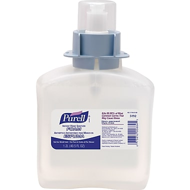 Purell® FMX-12 Instant Hand Sanitizer Foam Refill, 1,200 ml., 3/Case