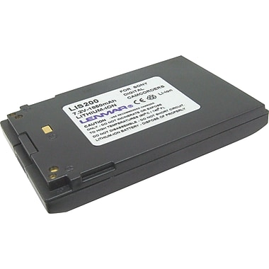 Lenmar Replacement Battery For Sony NPF200 (LIS200)