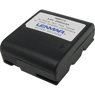 Lenmar Replacement Battery For Sharp BT-H1U (NMH1U)