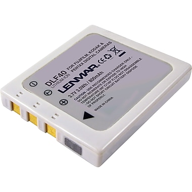 Lenmar Replacement Battery For Fuji NP-40 and Pentax Optio S (DLF40)
