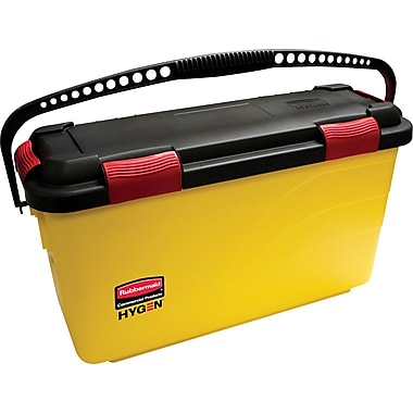 Rubbermaid HYGEN™ Charging Microfiber Bucket, Yellow