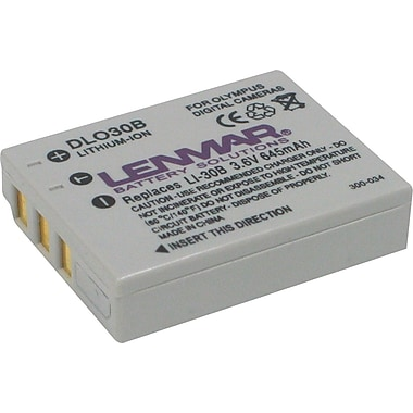 Lenmar Replacement Battery For Olympus LI-30B (DLO30B)