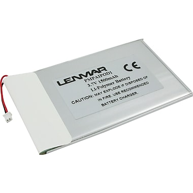 Lenmar Replacement Battery for Apple iPods, 1st & 2nd Generation (PMPAIPOD1)