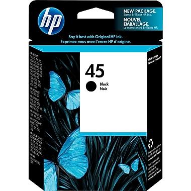 HP 45 Black Original Ink Cartridge (51645A)