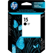 HP - Cartouche d'encre 15, noire (C6615DC)