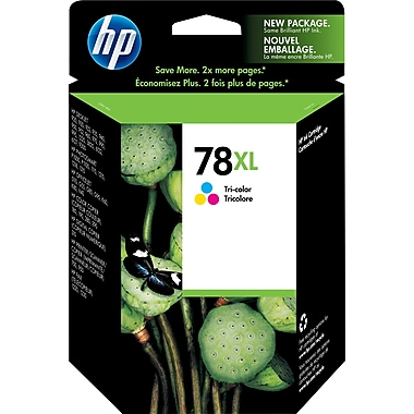 HP 78XL Tri-Color High Yield Original Ink Cartridge (C6578AN)