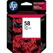 HP 58 Photo Original Ink Cartridge (C6658AN)