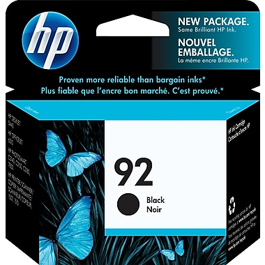 HP 92 Black Original Ink Cartridge (C9362WN)