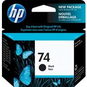 HP – Cartouche d'encre noire n° 74 (CB335WC)