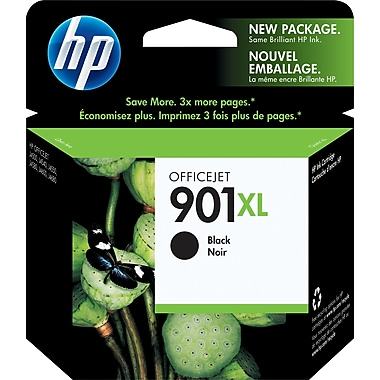 HP – Cartouche d'encre noire 901XL, haut rendement (CC654AC)