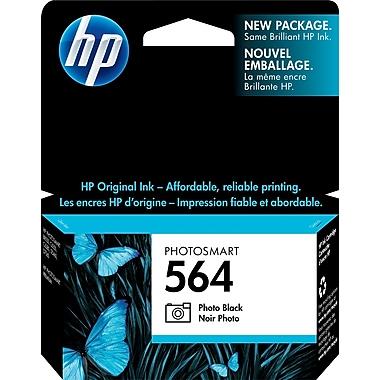 HP – Cartouche d'encre noire photo 564 (CB317WC)