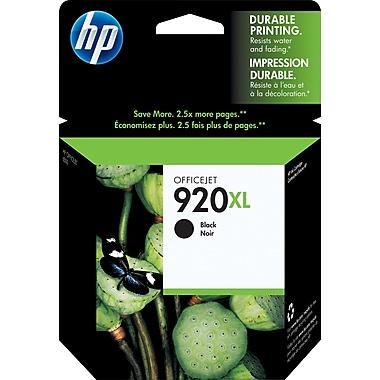 HP – Cartouche d'encre noire 920XL, haut rendement (CD975AC)