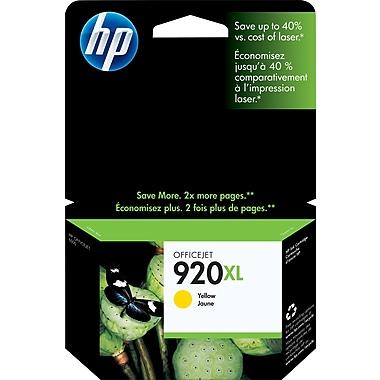 HP 920XL Cartouche d'encre jaune à rendement élevé d'origine (CD974AN)